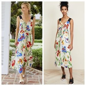 $898 NWT TORY BURCH RUNWAY Floral Summer Dress 4